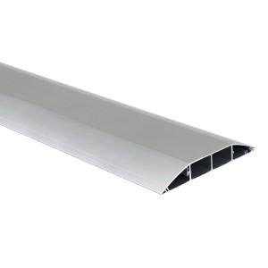 Кабель-канал напольный (основа с крышкой, 4 секции) Simon Connect 240x34мм, алюминий (кабельный короб)