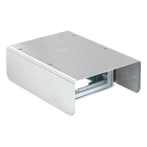 Минибашня Simon Connect 2-сторонняя на 4 модуля К45 с защитным кожухом, 69х200х141, алюминий
