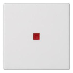 Клавиша 45х45мм для выключателя с подсветкой Simon K302, белый