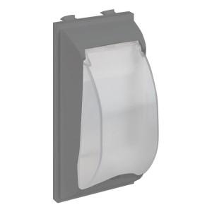 Плата с крышкой для автомата формата DIN, CIMA-модуль 42х52x108 мм, SC, алюминий