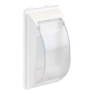 Плата с крышкой для автомата формата DIN, CIMA-модуль 42х52x108 мм, SC, белый