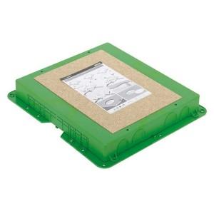 Коробка для монтажа в бетон люков Simon SF400-1, KF400-1, высота 54-90мм, 419х384мм