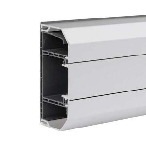 Кабель-канал Simon K45 130X55 мм, одна секция, алюминий (кабельный короб)