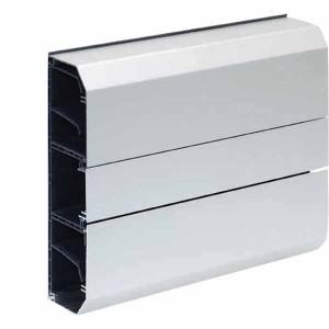 Кабель-канал Simon K45 210X55 мм, одна секция, алюминий (кабельный короб)