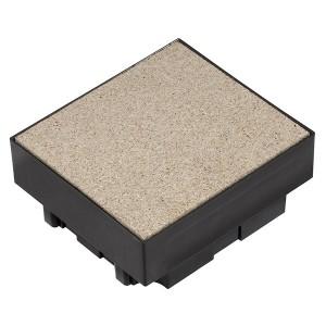 Коробка SE Ultra для монтажа квадратного лючка 4 поста в бетонный пол.
