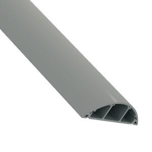 Кабель-канал ПВХ Schneider Electric напольный 18х75 2м, серый (кабельный короб)
