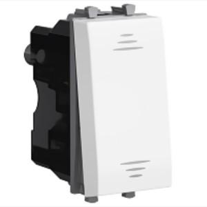 Выключатель 1 модуль DKC Avanti, белое облако