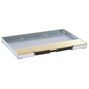 Крышка для напольной коробки Legrand исполнение вровень с полом латунь 12м