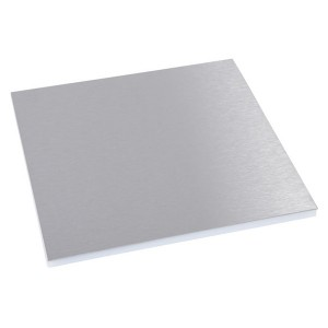 Декоративная панель Legrand для круглой напольной коробки нержавеющая сталь