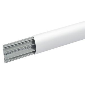 Кабель-канал Legrand напольный 75х18 с алюминиевой крышкой 3 отсека (кабельный короб)