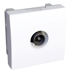 TV розетка оконечная Altira Schneider Electric белая 2 модуля
