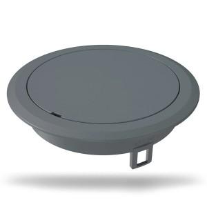 Лючок OBO Bettermann GES R2, 40х140 мм, глухой (полиамид, серый)