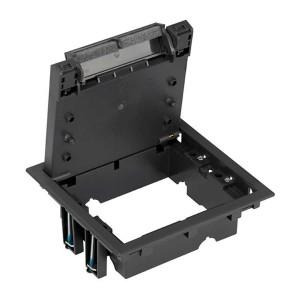 Сервисный люк Simon Connect на 2 S-модуля без днища посадка 170х155мм, графит