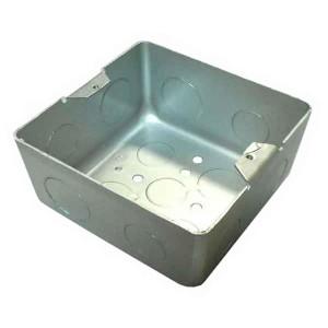 Коробка BOX/2S для люков Экопласт LUK/2 (AL, BR) в пол, металлическая для заливки в бетон