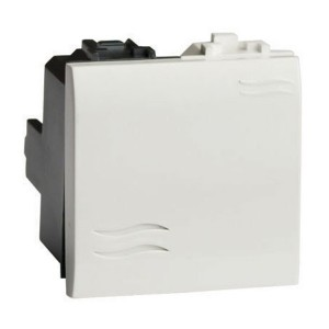 Выключатель DKC Brava 2 модуля белый