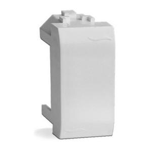Заглушка DKC Brava 1 модуль белая