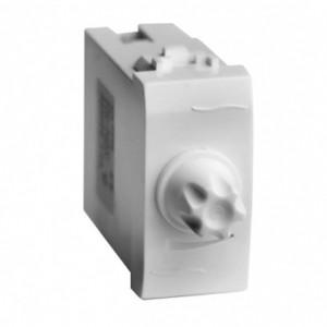 Диммер 35-500Вт DKC Brava 1 модуль белый