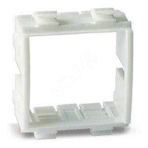 """Каркас под 2 модуля """"Brava"""", белый, для кабель-канала DKC In-liner Front"""