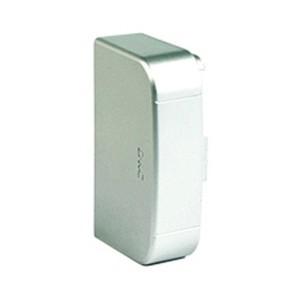 Заглушка 110х50 мм, цвет серый металлик, DKC In-liner Aero