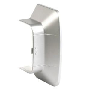 Ввод в стену/потолок 90х50 мм, цвет серый металлик, DKC In-liner Aero