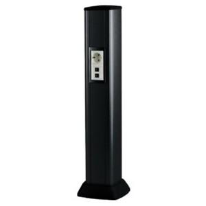 Колонна алюминиевая 0,71 м, цвет черный DKC