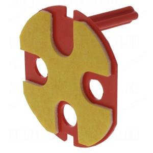 Ключ блокировки Legrand Mosaic для красных розеток с блокировкой