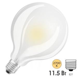 Лампа светодиодная Osram PARATHOM GLOBE 95 11.5W (100) 220V 2700K FR E27 LEDVANCE