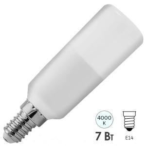 Лампа GE T32 LED7 STIK 7W 840 100-240V E14 F 600lm d32x103mm Tungsram