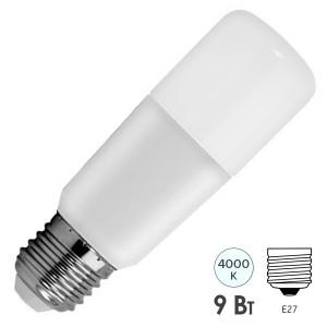Лампа GE LED9/STIK/840 230V E27 BX 850lm d38x115.5mm Tungsram
