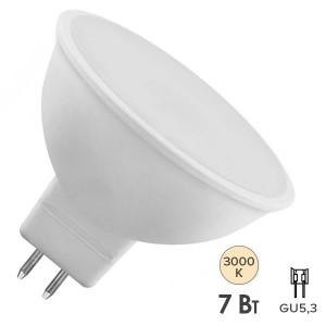 Лампа светодиодная Osram LED LS MR16 D80 7W/830 GU5.3 DIM 110° 220V 15000h