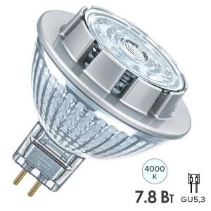 Лампа светодиодная Osram LED PARATHOM MR16 50 36 7,8W/4000K 12V GU5.3 DIM 25000h
