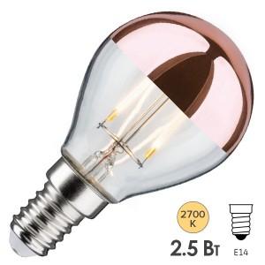 Лампа филаментная светодиодная Paulmann LED  2,5W 2700K E14 медное покрытие