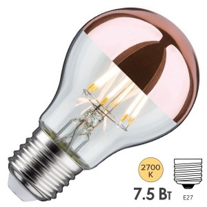Лампа филаментная светодиодная Paulmann LED  7,5W 2700K E27 медное покрытие