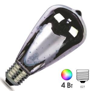 Лампа светодиодная капля Gauss LED 3D-Butterfly 4W E27