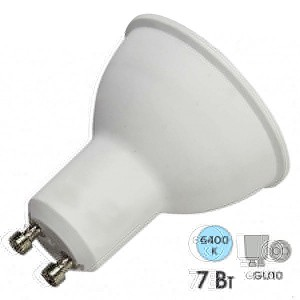 Лампа светодиодная Feron MR16 LB-26 7W 6400K 560Лм 220V GU10 холодный свет