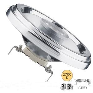 Лампа светодиодная LED AR111 8W G53 12V 2700K 24°