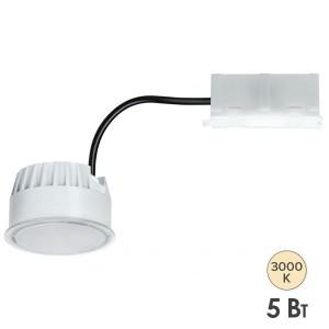 Светодиодный модуль Coin Base LED 5W 3000K 230V 350lm