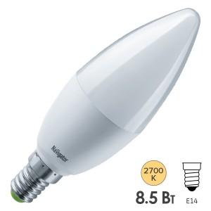 Лампа Navigator 61 324 NLL-C37-8.5-230-2.7K-E14-FR