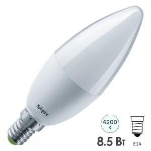Лампа Navigator 61 325 NLL-C37-8.5-230-4K-E14-FR