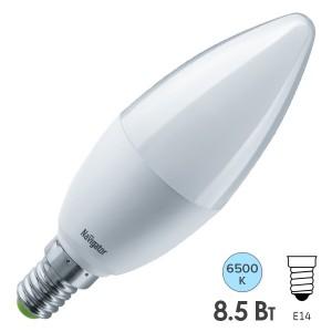 Лампа Navigator 61 326 NLL-C37-8.5-230-6.5K-E14-FR