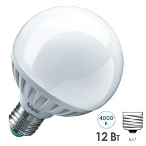 Лампа Navigator 61 279 NLL-G95-12-230-4K-E27 (шар)