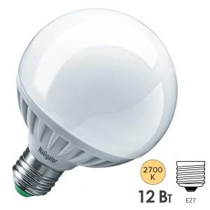 Лампа Navigator 94 147 NLL-G95-12-230-2.7K-E27 (шар)