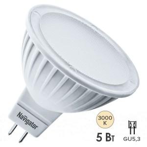 Лампа Navigator 94 262 NLL-MR16-5-12-3K-GU5.3