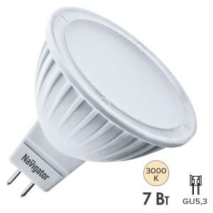 Лампа Navigator 61 382 NLL-MR16-7-230-3K-GU5.3-DIMM