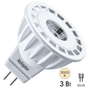Лампа Navigator 94 141 NLL-MR11-3-12-3K-GU4