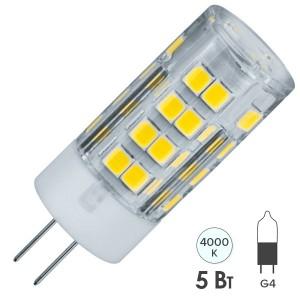 Лампа Navigator 61 484 NLL-P-G4-5-230-4K (Поликарбонат)